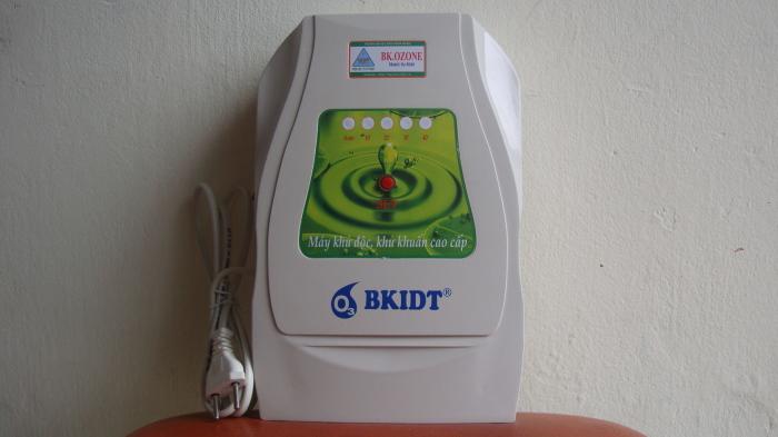 Máy khử độc Ozone BK.OZONE M04, máy khử độc rau quả